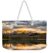 Beautiful Sunrise On Little Redfish Lake Weekender Tote Bag