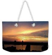 Beautiful New York City Sunset - Upper West Side Weekender Tote Bag
