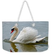 Beautiful Swan Weekender Tote Bag