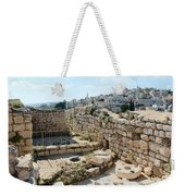 Beautiful Taybeh Village Weekender Tote Bag