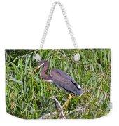 Beautiful Tricolored Heron Weekender Tote Bag