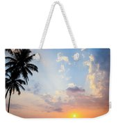 Beautiful Tropical Sunset Weekender Tote Bag
