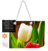 Beautiful Tulips Series 2 Weekender Tote Bag