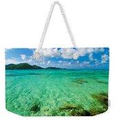 Beautiful Turquoise Water Weekender Tote Bag