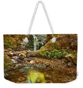 Beautiful View Of Upper Falls Located In Uvas Canyon County Park. Weekender Tote Bag