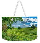 Summer View In Yorkshire Weekender Tote Bag