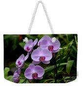 Beautiful Violet Purple Orchid Flowers Weekender Tote Bag