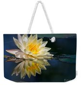 Beautiful Water Lily Reflection Weekender Tote Bag
