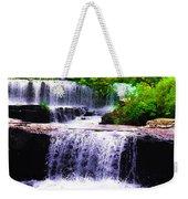 Beautiful Waterfall Weekender Tote Bag