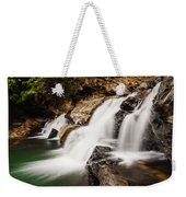 Beautiful Waterfall In Western Ghats Karnataka India Weekender Tote Bag