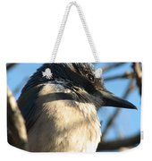 Beautiful Western Scrub Jay Weekender Tote Bag