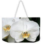 Beautiful White Phanaenopsis Orchids Weekender Tote Bag