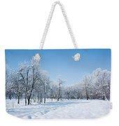Beautiful Winter Landscape Weekender Tote Bag