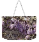 Beautiful Wisteria Weekender Tote Bag
