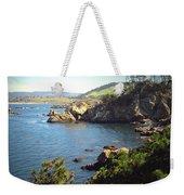 Beautifully Rugged Shoreline At Point Lobos Two Weekender Tote Bag