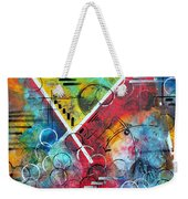 Beauty Amongst The Chaos By Madart Weekender Tote Bag