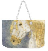 Beauty And Strength  Golden Appaloosa Weekender Tote Bag