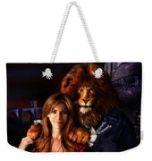 Beauty And The Beast Weekender Tote Bag