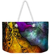 Beauty And The Beast Weekender Tote Bag by Mandie Manzano