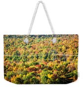 Beauty And The Grid Weekender Tote Bag
