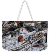 Beauty In Ice Weekender Tote Bag
