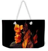 Beauty In The Dark Weekender Tote Bag