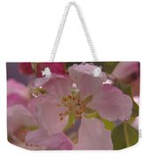 Beauty Is A Dew Drop On A Flower Weekender Tote Bag