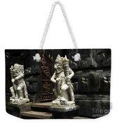 Beauty Of Bali Indonesia Statues 1 Weekender Tote Bag