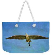 Beauty Of Flight Textured Weekender Tote Bag