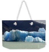 Beauty Of Icebergs Patagonia 6 Weekender Tote Bag