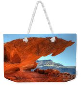 Beauty Of Sandstone Little Finland Weekender Tote Bag by Bob Christopher