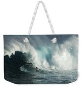 Beauty Of Surfing Jaws Maui 7 Weekender Tote Bag
