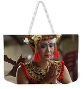Beauty Of The Barong Dance 1 Weekender Tote Bag