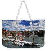 Beauty Of The Harbor Weekender Tote Bag