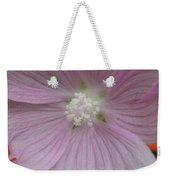 Beauty Of The Hollyhock  Weekender Tote Bag