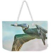 Beauty Of The Pelican Weekender Tote Bag