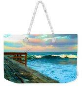 Beauty Of The Pier Weekender Tote Bag