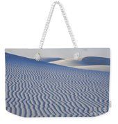 Patterns White Sands New Mexico Weekender Tote Bag