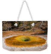 Beauty Pool In Upper Geyser Basin In Yellowstone National Park Weekender Tote Bag