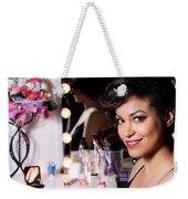 Beauty Portrait Weekender Tote Bag