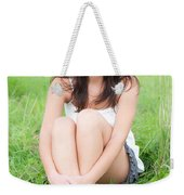 Beauty Portrait Weekender Tote Bag