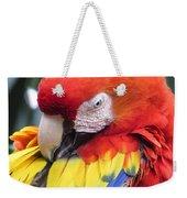 Beauty Scarlet Weekender Tote Bag