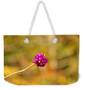 Beautyberry Weekender Tote Bag