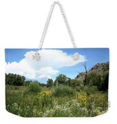 Beaver Creek Valley In Colorado Weekender Tote Bag
