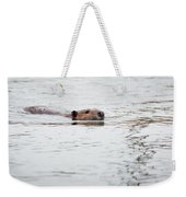 Beaver Weekender Tote Bag