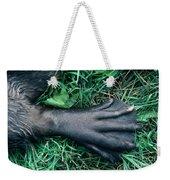 Beaver Foot Weekender Tote Bag