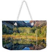 Beaver Lake Sierra Nevada Mountains Weekender Tote Bag
