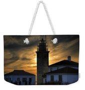 Beavertail Lighthouse Too Weekender Tote Bag