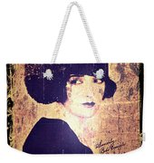 Bebe Daniels - 1920s Actress Weekender Tote Bag