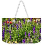 Becker Vineyards' Flower Garden Weekender Tote Bag